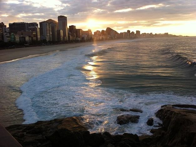 リオ·デ·ジャネイロの観光ビーチコパカバーナ