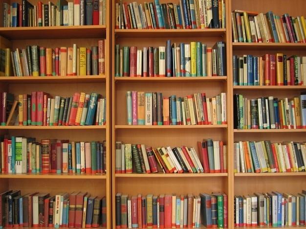 文学帳簿本棚を読む