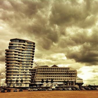 Порт гамбург гавань города марко поло германии башни