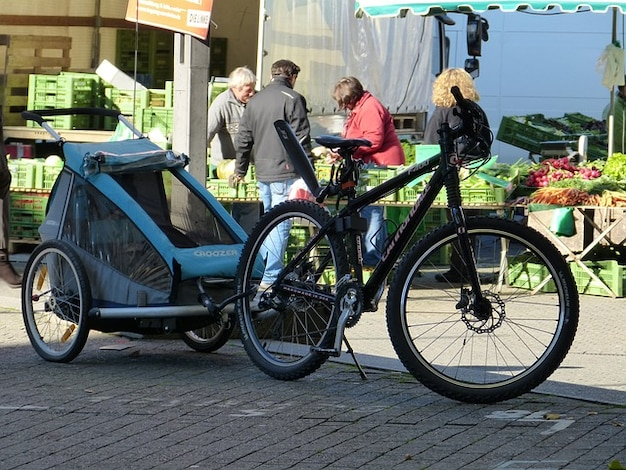 輪駆動トレーラーバイクのショッピング市場