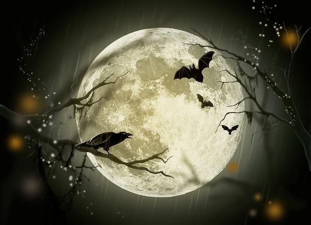 満月物語カラス祝日妖精謎ハロウィーン