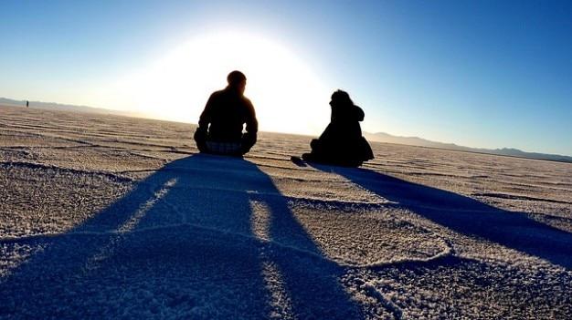 塩アンデス湖デザートフラットアタカマ