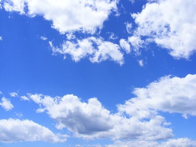 ふんわり自然夏の日雲空