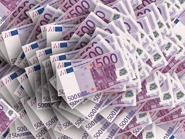 法案ユーロドル記号通貨スタックお金