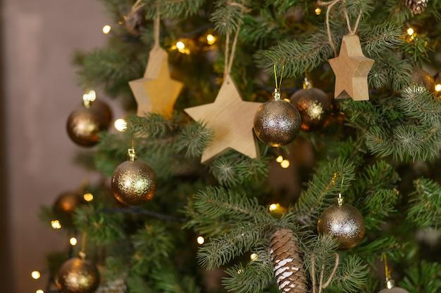 クリスマスの休日の装飾