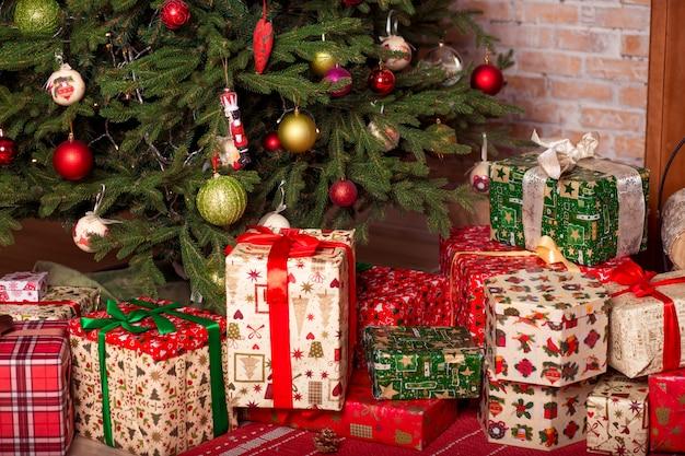 Рождественский домашний интерьер