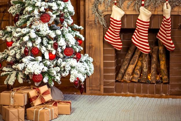 クリスマスの家の装飾