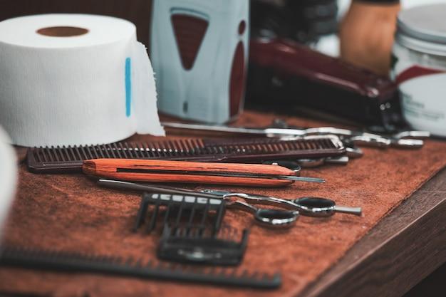 理髪店の美容院とヘアサロン