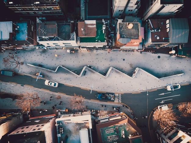 ソウルの建築の平面図