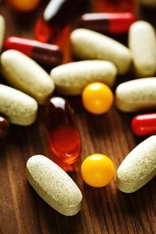 オーガニックダイエット治療、ビタミンカプセル