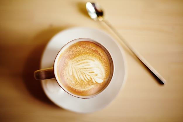 ラテコーヒーアート