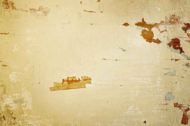 ひびの入った塗装面とテクスチャ背景