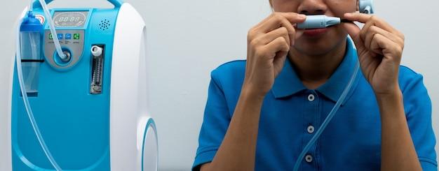 酸素濃縮器バーゲージ測定リットル