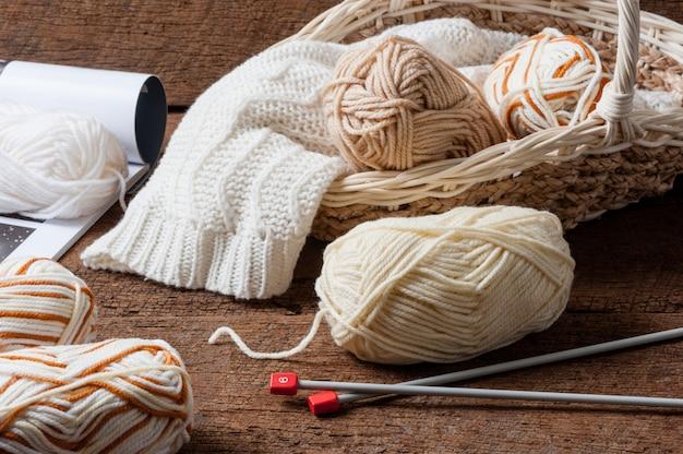 Вязание продукта