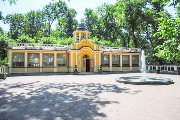 サンクトペテルブルクの美しい公園