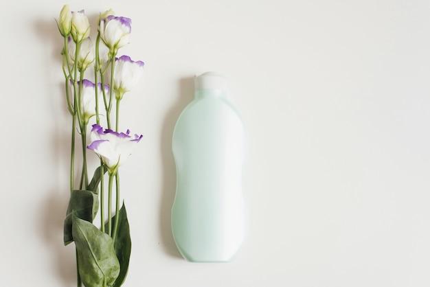 女性の体の形の体のための保湿グリーンローション
