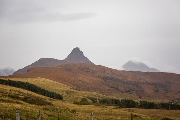 スコットランドの雨の日