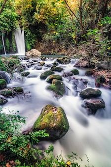 Водопад баниас пейзаж