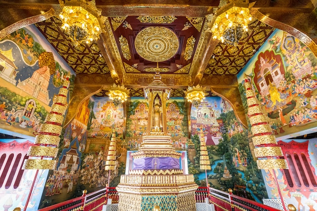 タイの黄金寺院