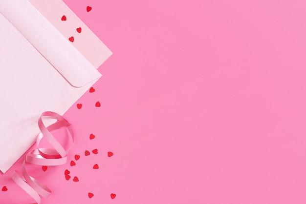 バレンタインデーの明るいお祝いカード