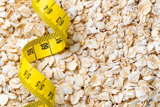 Здоровый и волокнистый завтрак и питание для похудения