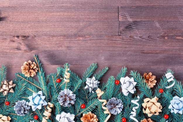 Рождественская композиция, орнамент.