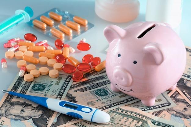 Концепция дорогого лекарства.