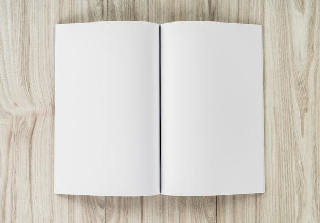 Открыть ноутбук с пустыми страницами