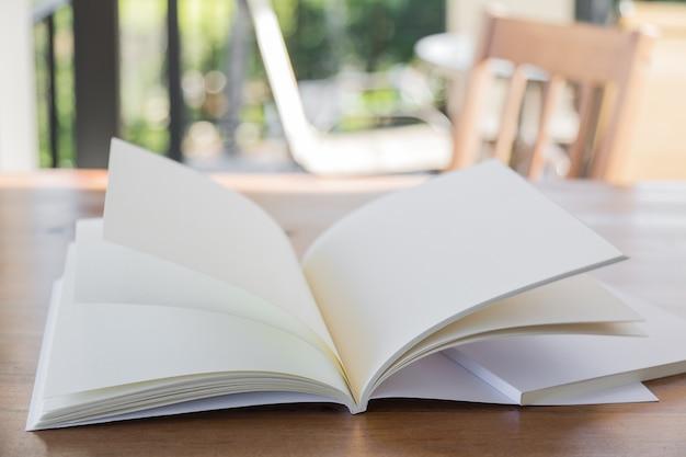 Пустая открытая книга