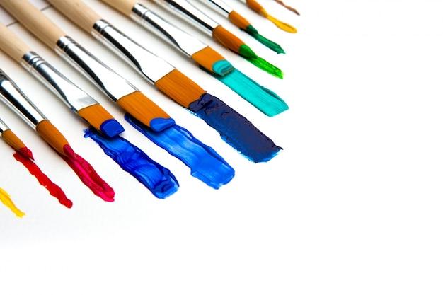 Краска кисти и краски