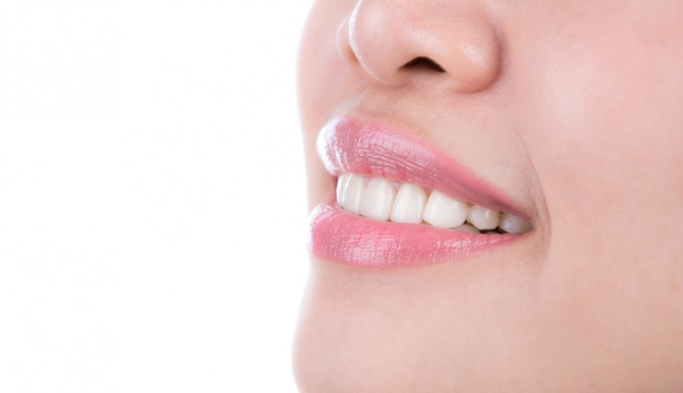健康な女性の歯