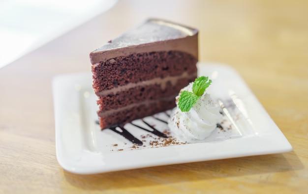 Шоколадный торт лавы