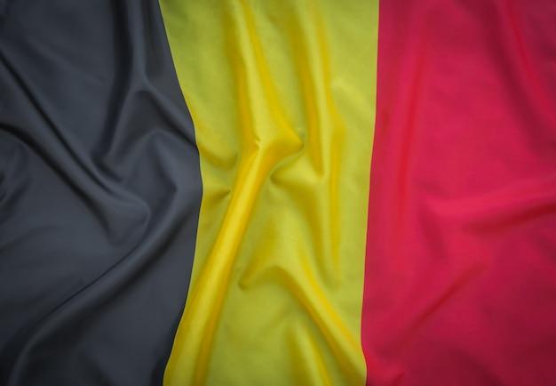 ベルギーの国旗。