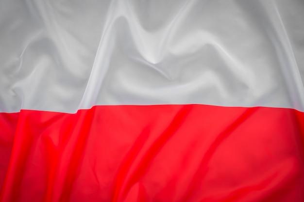 ポーランドの国旗。