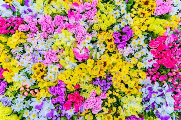夏の家芳香族布の牧草地