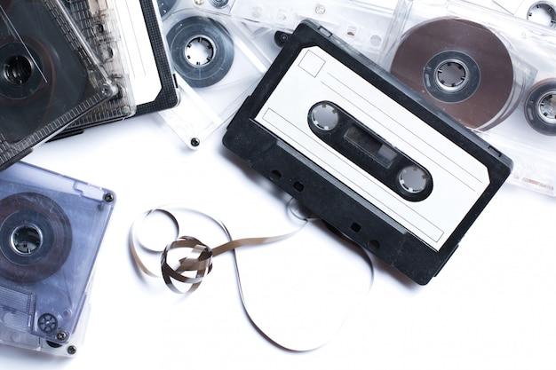 Старые аудиокассеты