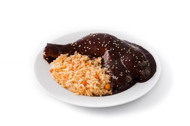 Традиционная родинка поблано с рисом