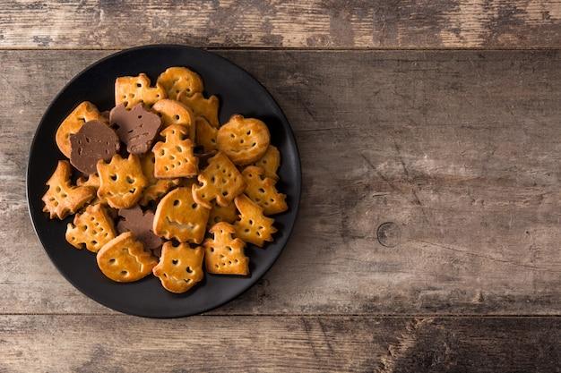 Смешные печенья на хэллоуин