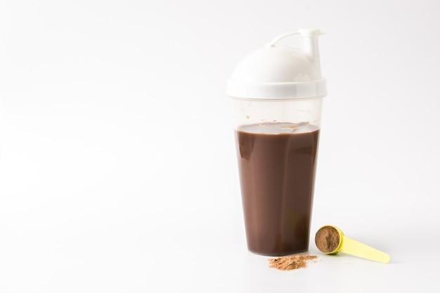 チョコレートプロテインシェイク