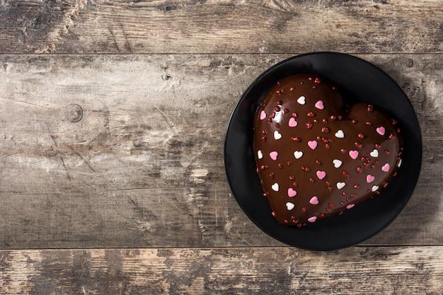 バレンタインデーや母の日のハート型のケーキ