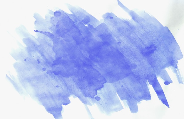 青いブラシストローク