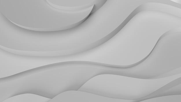 エレガントなグレーのレリーフ。地形の抽象的な背景。美しい流体設計。