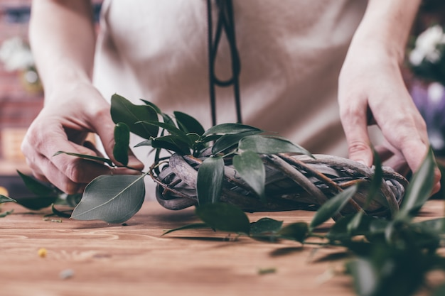 Концепция доставки цветов