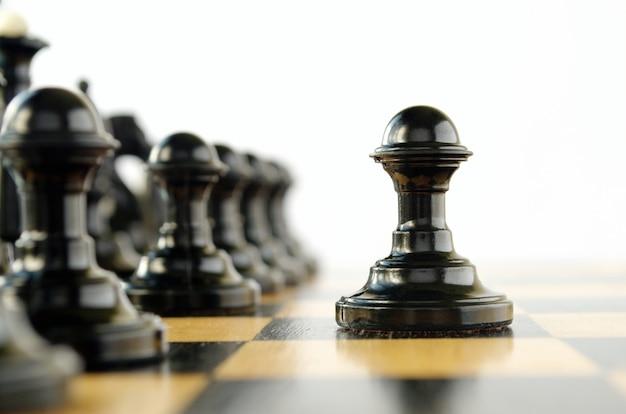 ゲーム中にボード上のチェスの駒