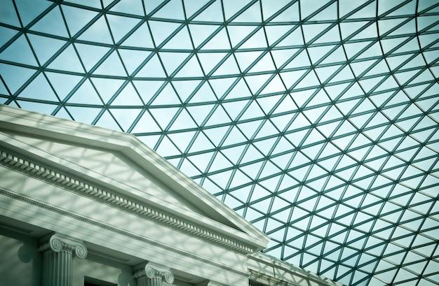 英国ロンドンの大英博物館のアトリウム