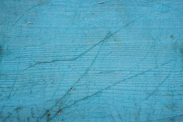 Яркий фон из синих деревянных досок