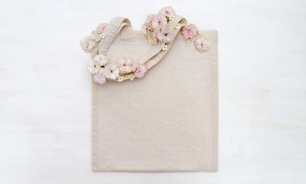 花の買い物袋
