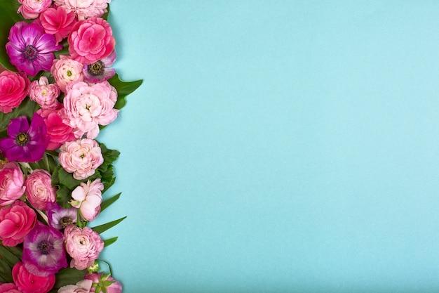 美しい花の背景
