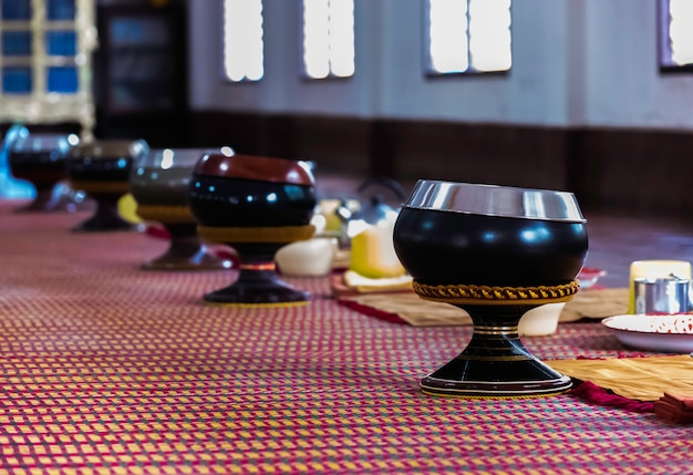 Чаша для подаяний монаха
