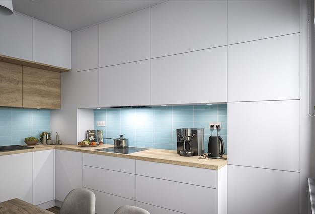 Новая стильная кухня